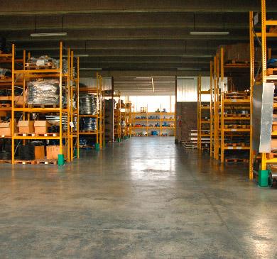 magazzino ventilazione industriale sama srl