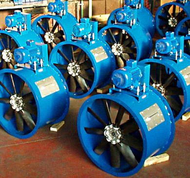produzione ventilatori industriali