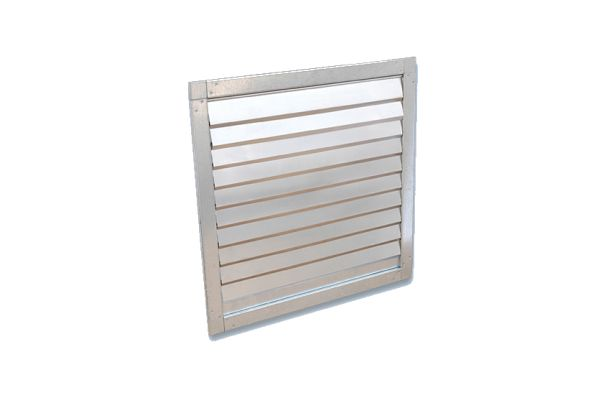 Fans and accessories Gravity shutters