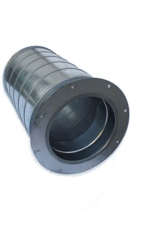 Silencers for centrifugal fans