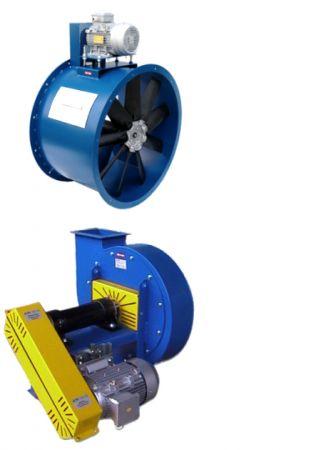 Ventilatore a trasmissione