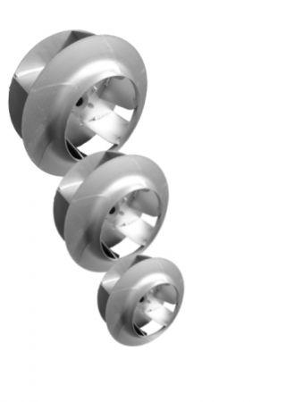 Ventola centrifuga saldata a pala rovescia